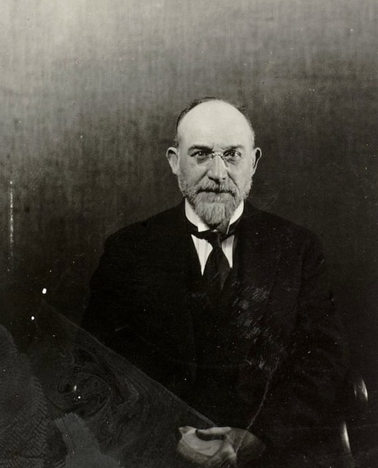 erik satie by man ray